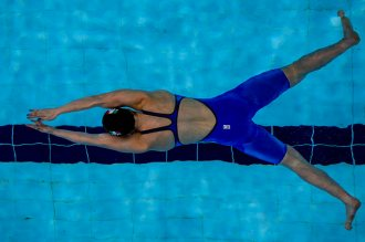 Benedetta PILATO of Italy competes in the women's 100m Breaststroke Heats during the 20th LEN European Short Course Swimming Championships in Glasgow, Great Britain, Friday, Dec. 6, 2019. (Photo by Patrick B. Kraemer / MAGICPBK)