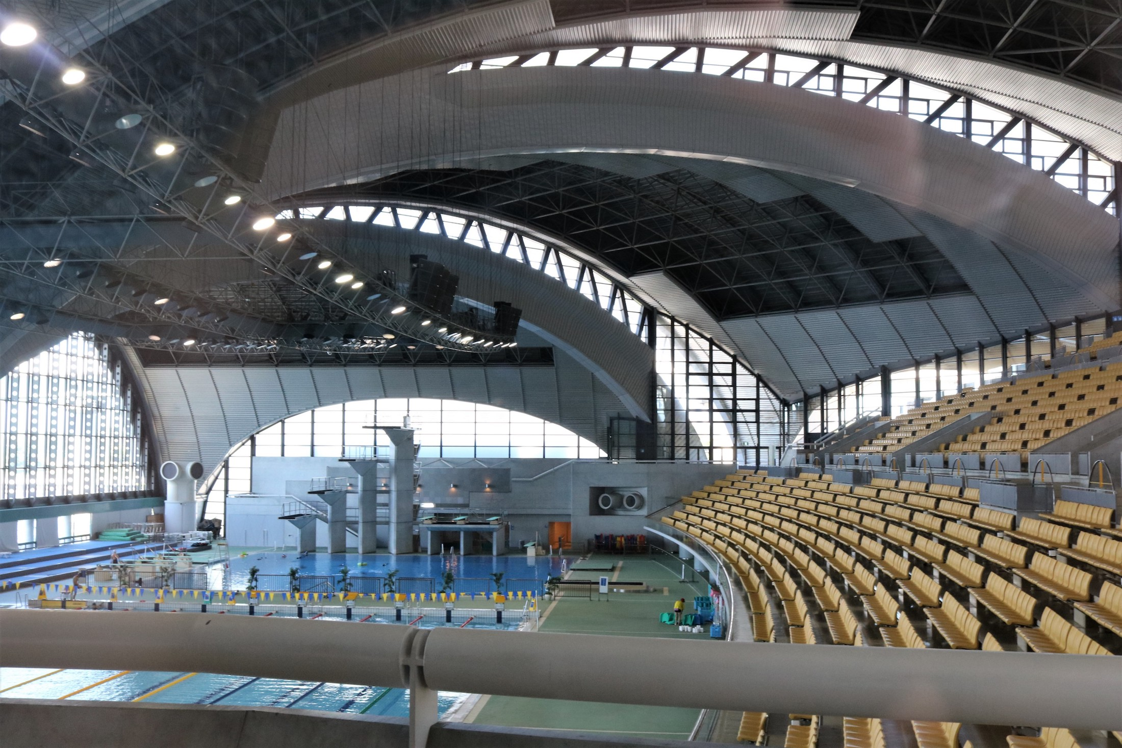 More Headaches for 2020 Tokyo Organizers: Asbestos at Olympic Water Polo  Venue - Swimming World News