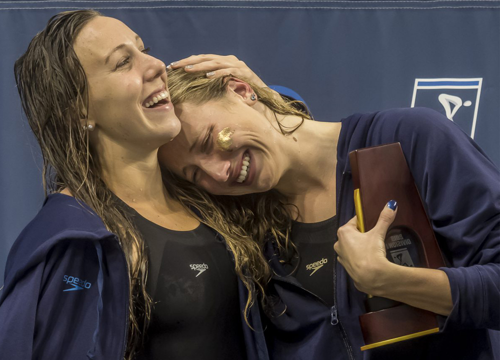 SW May 2020 - Tossed Into Turmoil -How COVID19 Has Impacted The Sport of Swimming Across the Globe - Amy Bilquist and Abbey Weitzel - By PHB