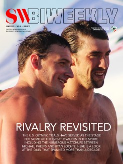 SW Biweekly 6-21-20 Cover - Rivalry Revisited - Michael Phelps and Ryan Lochte