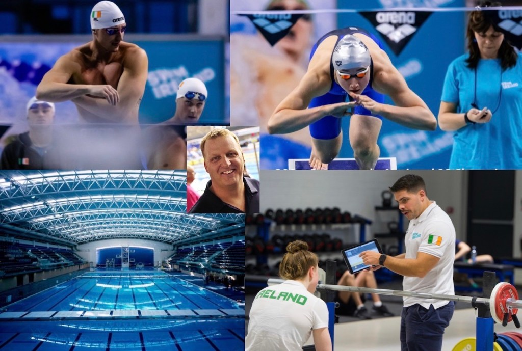Swim Ireland Collage