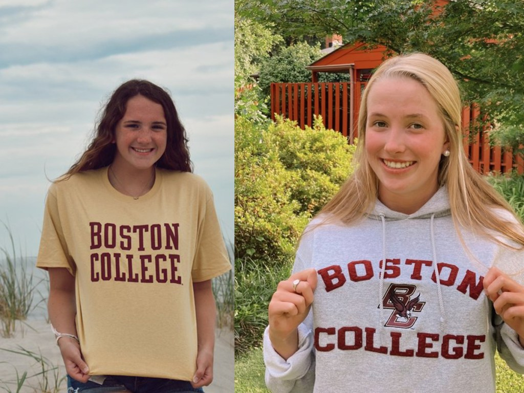mary kate leonard samantha smith boston college bc