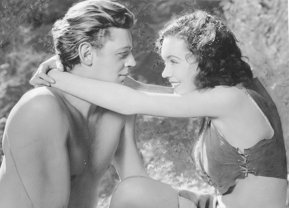 Swimming World July 2020 - Takeoff To Tokyo Series - Johnny Weissmuller - A Star of Swimming And Hollywood - With Maureen O Sullivan