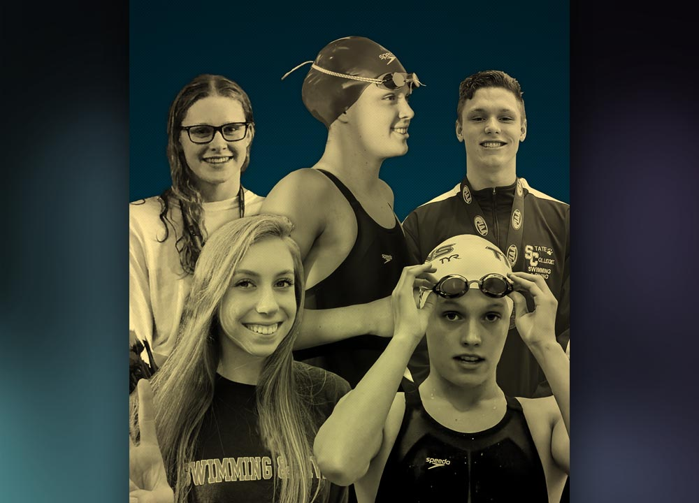 high school swimming, claire curzan, gretchen walsh, kaitlyn dobler, matt brownstead, phoebe bacon