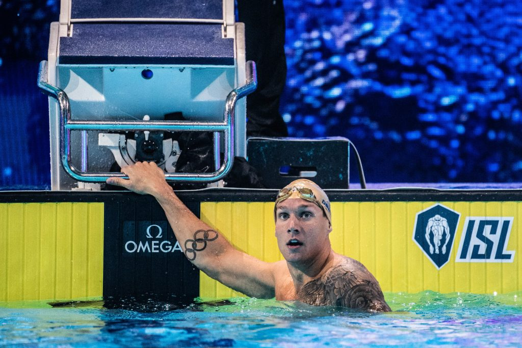 Caeleb Dressel Cali Condors ISL (photo: Mike Lewis)