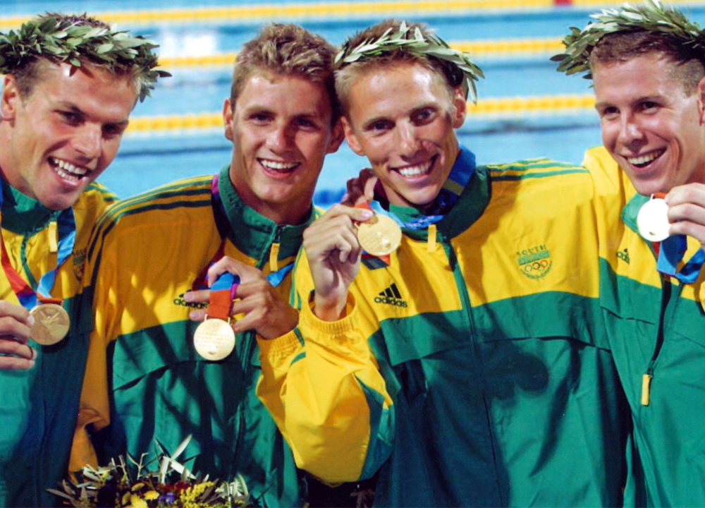 SW October 2020 -Defying All Odds - Story of the 2004 Athens Olympics mens 400 meter freestyle relay win by South America