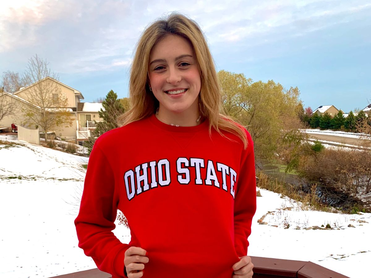 Junior National 100 Back Finalist Sydney Davids Sends Verbal to Ohio State for 2022 - Swimming World News