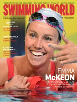 SW February 2012 - Emma McKeon COVER