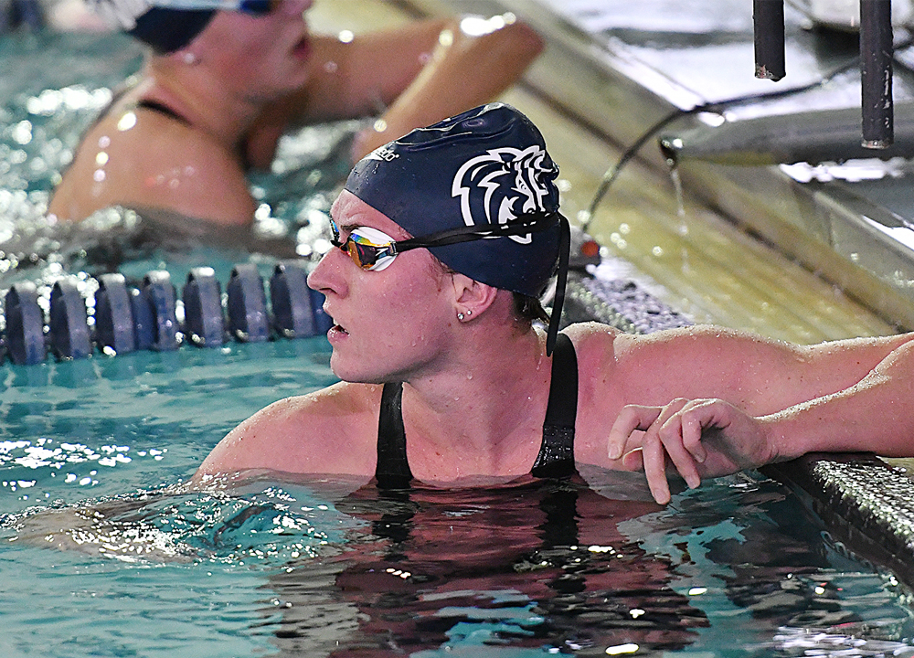 Swimming World March 2021 - Francesca Bains of Queens University