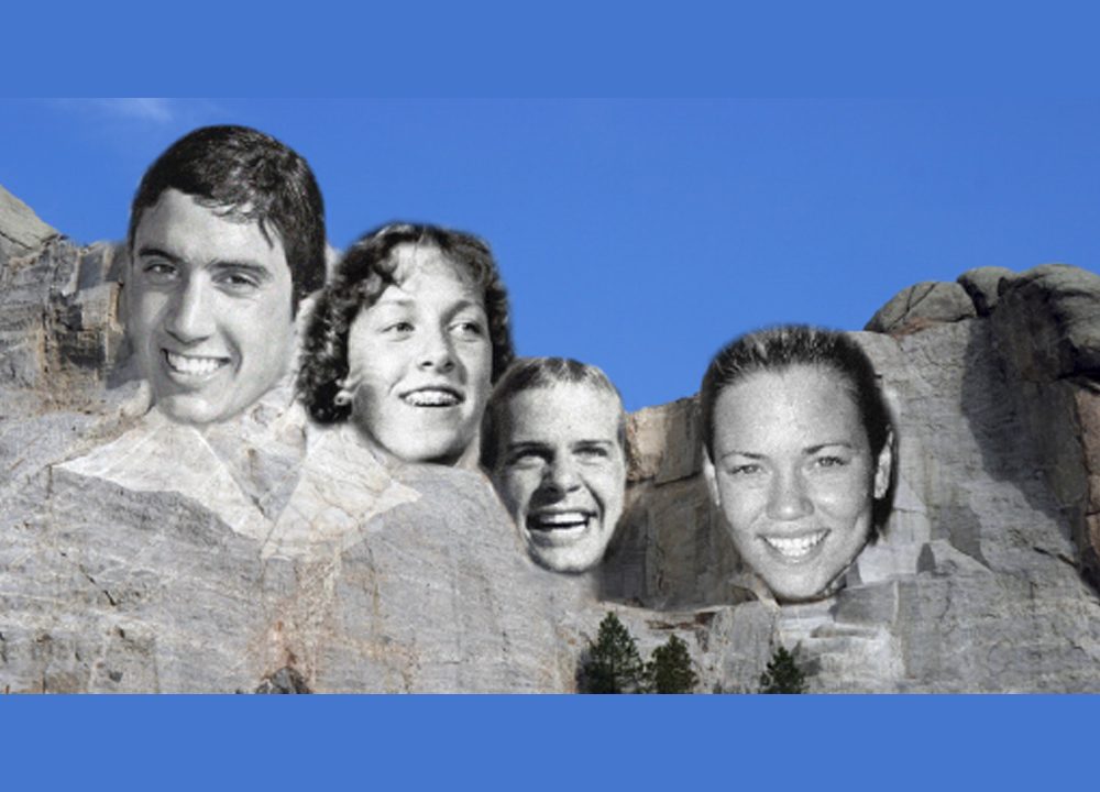 Swimming World March 2021 - The Mount Rushmore of NCAA Division I Swimming