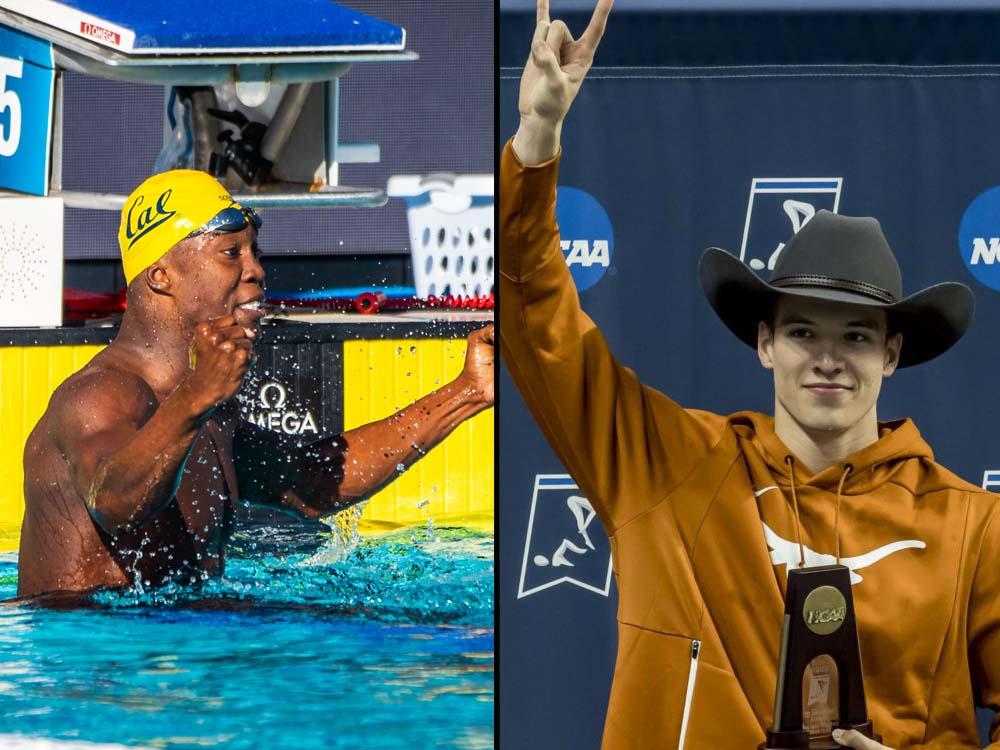 reece whitley, drew kibler, 2021 men's ncaa swimming championships