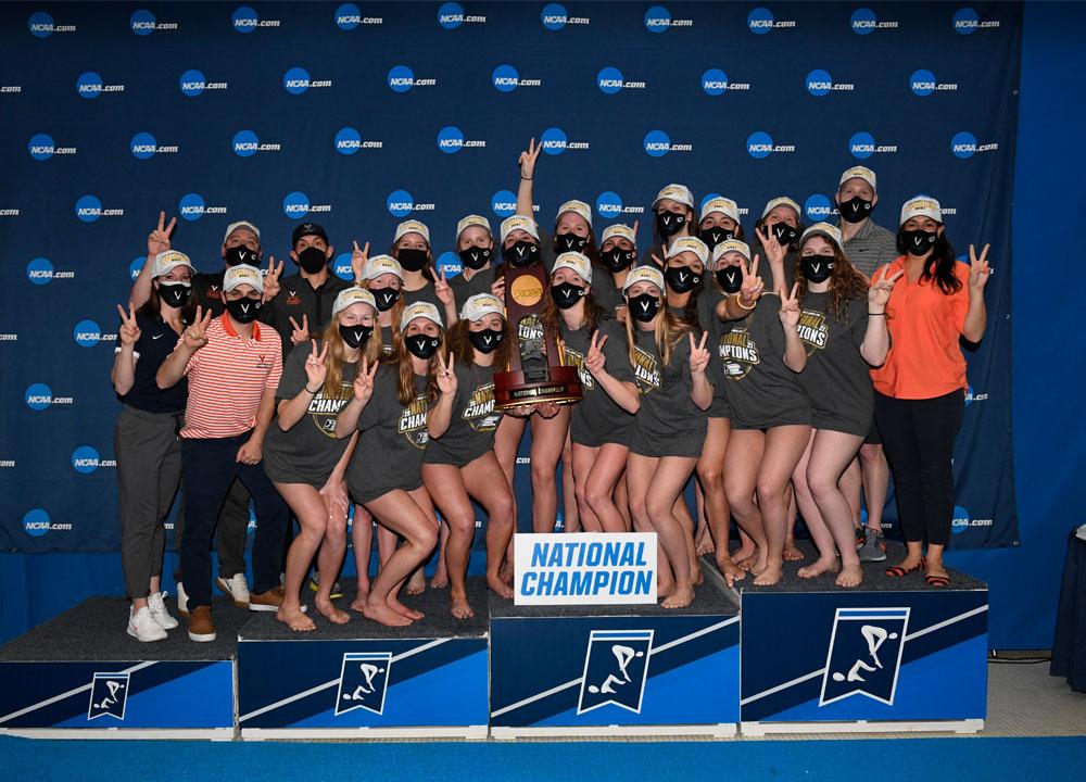 Swimming World June 2021 - Women's 2021 NCAA Review - Virginia