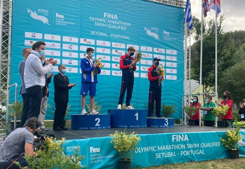 Hector Pardoe podium