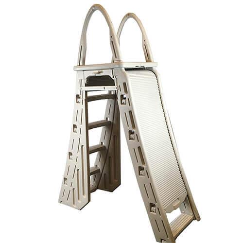 RollGuard A-Frame Safety aboveground pool ladder