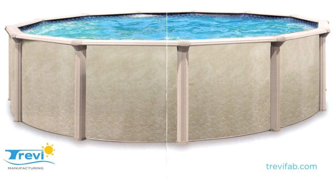Trevi 106 aboveground pool