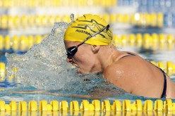 Later winner Leisel JONES of Australia competes in the women's 200m breaststroke final on day 1 at the 27th International Swimming Meet (50m) held at Piscina Pere Serrat in Barcelona, Spain, Saturday, June 10, 2006. (Photo by Patrick B. Kraemer / MAGICPBK)