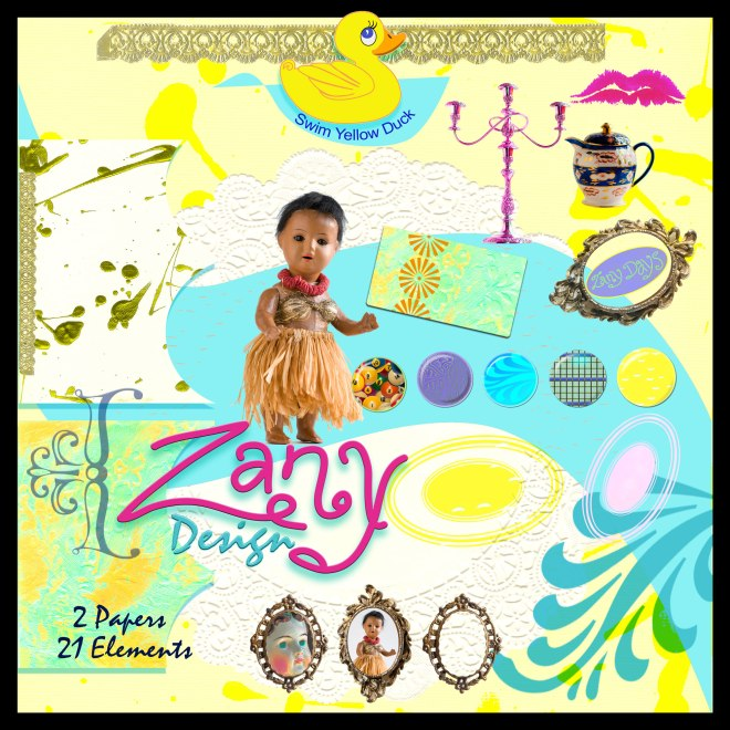 Zany Design Collection on Etsy