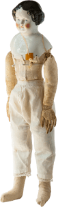 cloth doll body for a china head doll