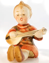 Banjo Betty figurine from the 1950s, Made in Japan