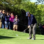 Tom Watson and gallery of fans