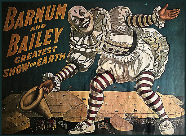 Circus Clown Poster Art to Make You Smile