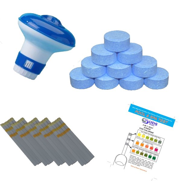 20g multifunctional chlorient tablets full kit