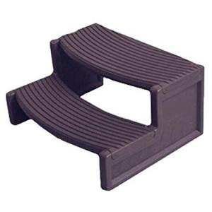 Hot Tub Plastic Handi Steps For Round & Sq Spa's - Swindon Pool Hot Tub & Spa Chemicals And Accessories