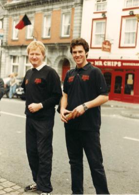 Oliver Feely & Vin Roughneen (Captain)