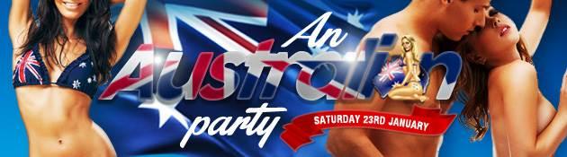 Sexy Australia Day Events!