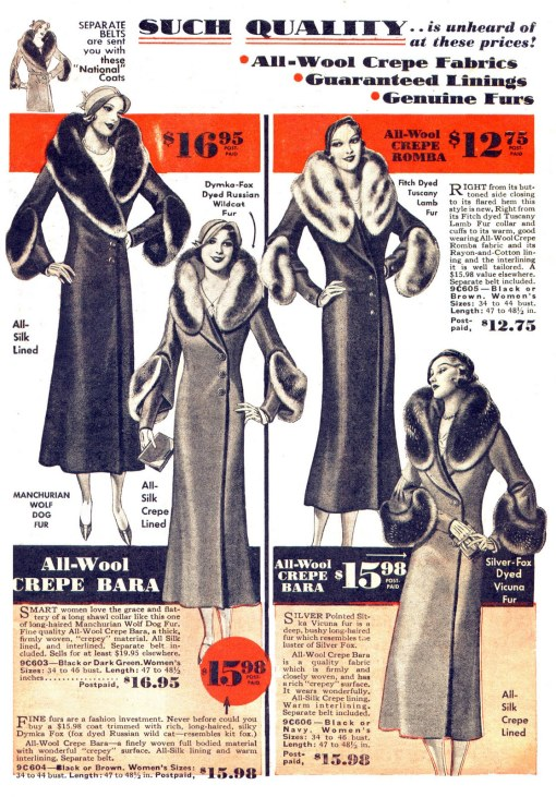 1930s Coats