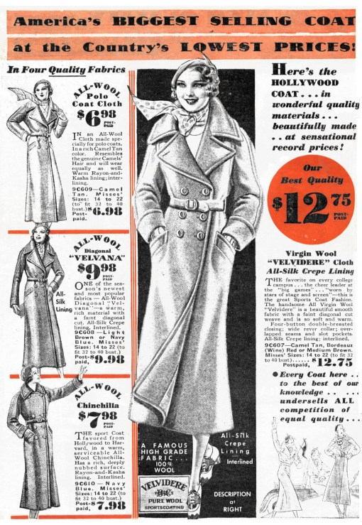 1930s trench coat