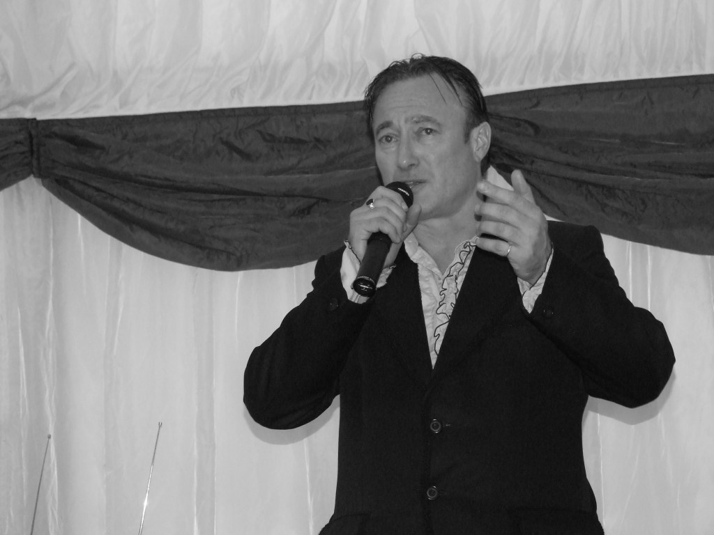 Pete Sinclair - master of ceremonies - wedding entertainer