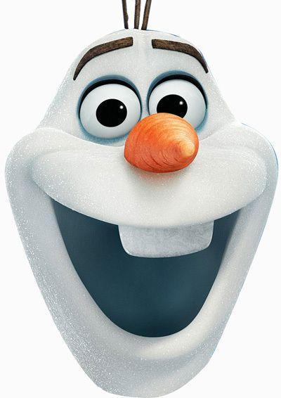 Frozen Olaf Mask
