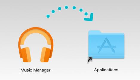 Music Manger the Application folder