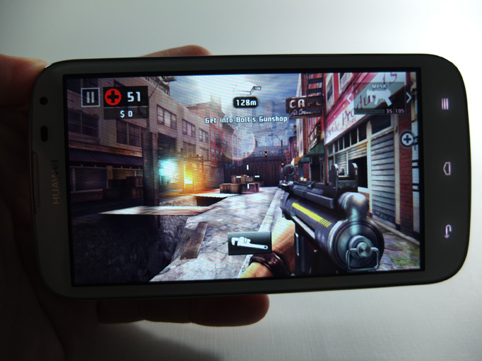 Huawei Ascend G610 Review - Games, Dead Trigger 2