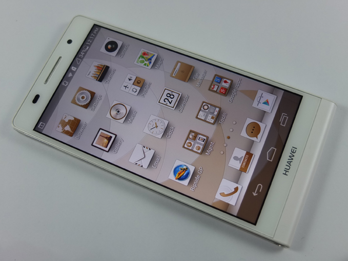 Huawei Ascend P6 Review Front Shot