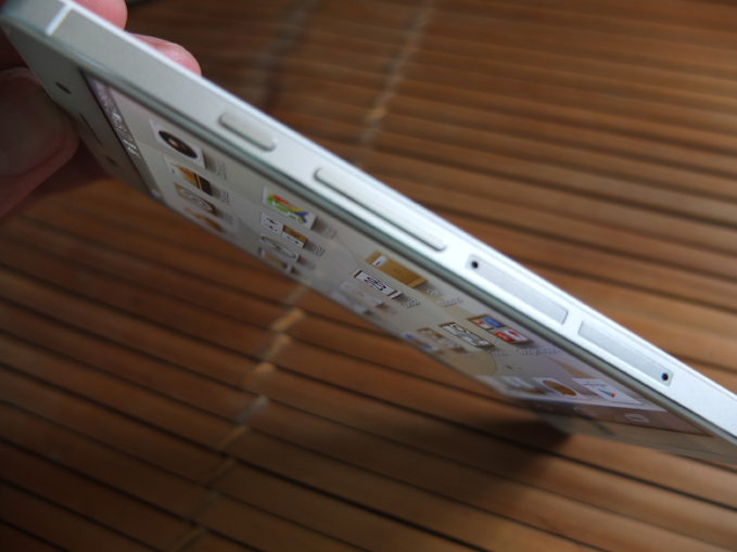 Huawei Ascend P6 Review extreme viewing angles