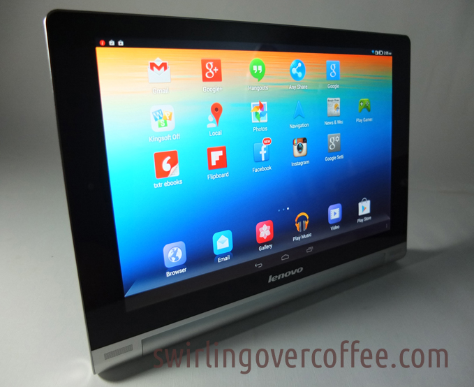 Stand Mode Lenovo Yoga Tablet 10