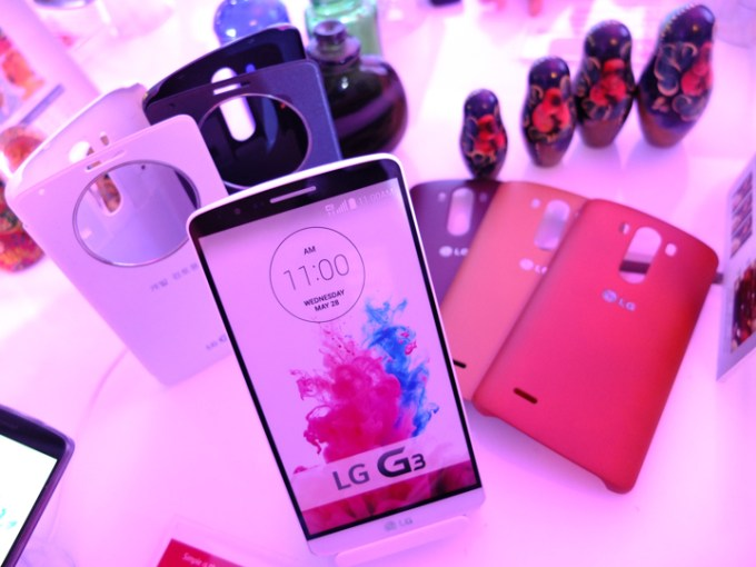 LG G3 range of accessories.