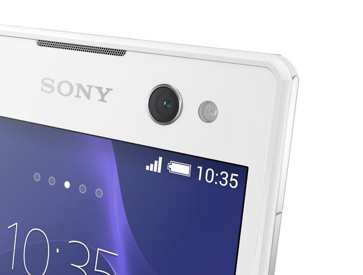 Sony Xperia C3 Selfie Camera