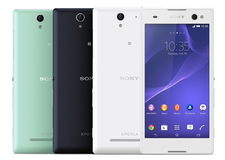 Sony Xperia C3 Pro Selfie Camera