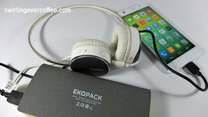 Ekopak 13000 mah Power Bank, Huawei Honor 6
