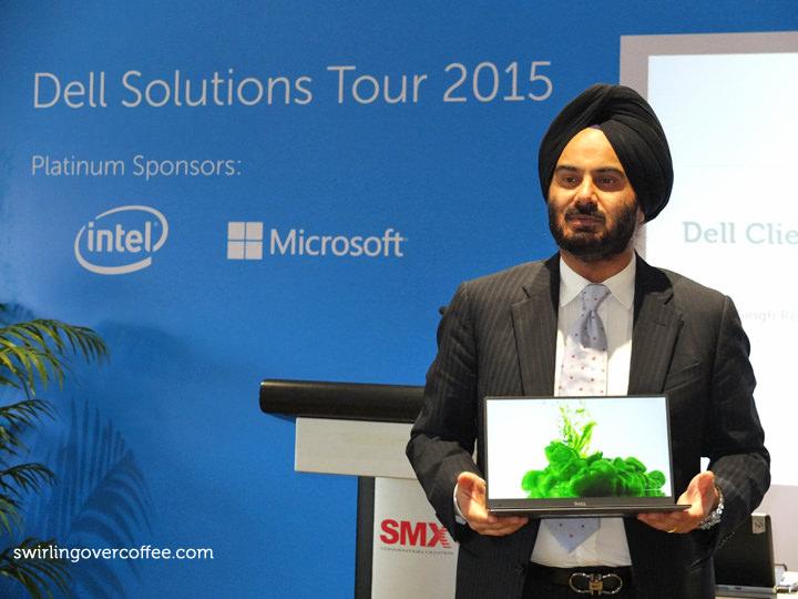 Harjeet Singh Rekhi, Dell Solutions Tour 2015, Dell XPS 13