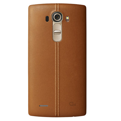 LG G4 in Tan Leather
