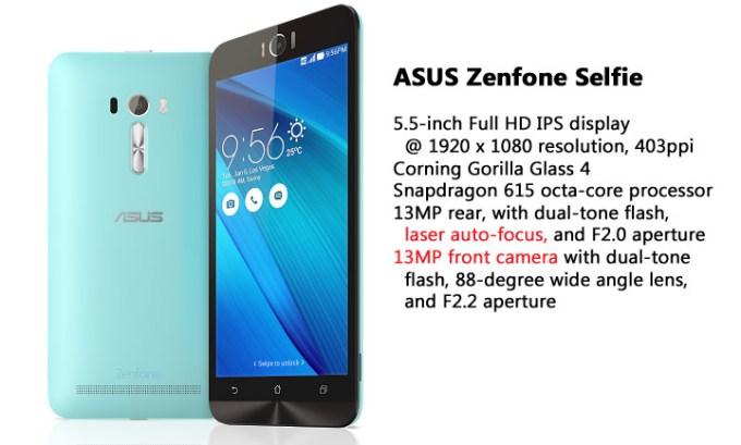 ASUS ZenFone, ASUS ZenFone Selfie