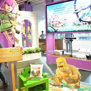 The Clash of Clans corner brings our imagination and fantasies to life.