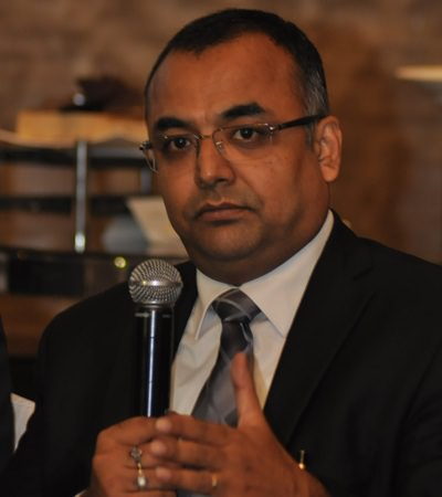 Sanjay Gupta Managing Director South Asia and Middle East
