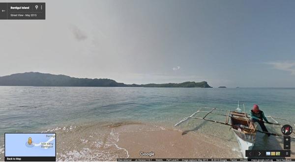 Bantigui Island, Gigantes Islands Google Street View