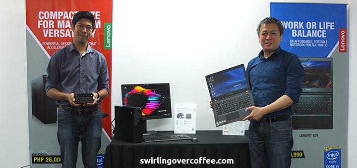 Michael Ngan, Lenovo S500 SFF Desktop, Lenovo E31 Notebook
