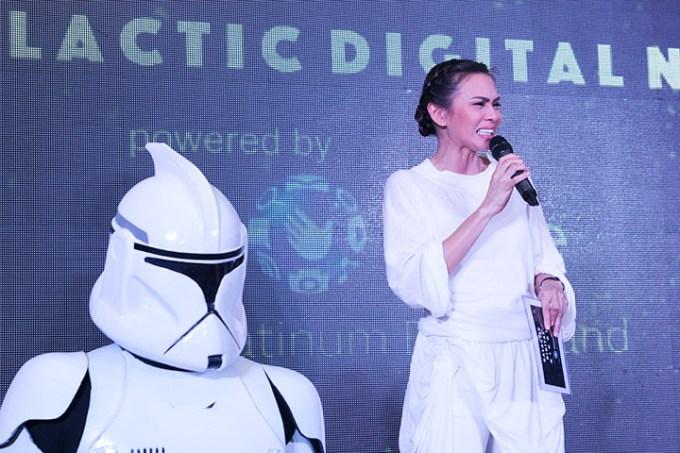 Star Wars Globe Platinum Digital Night